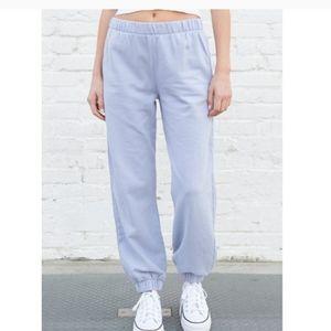 EUC Brandy Mellville Pale Blue Rosa Sweatpants